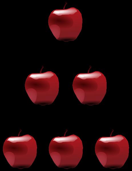 Epler som representerer naturlige tall