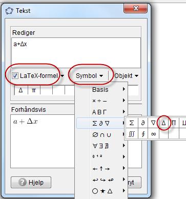 hele formelen av pi